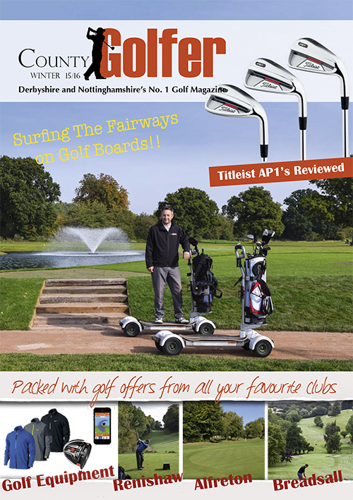 County Golfer Magazine 2015 Winter-COVER